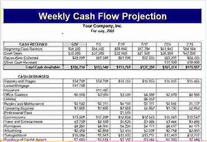 5 cash flow projection template procedure template sample With cash flow schedule template