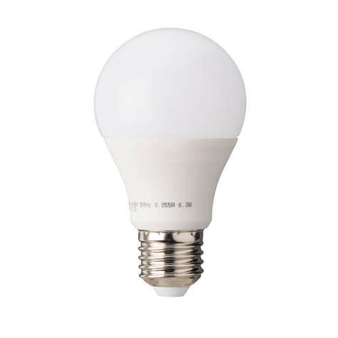 Diall E27 470lm LED Classic Light Bulb, Pack of 3