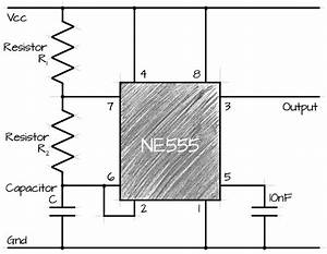 555 ne555 above 100khz frequency problem electrical for Construct the circuit shown and study how the frequency and duty cycle
