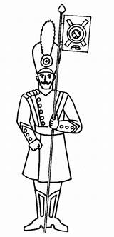 Tin Soldier Coloring Pages Drawing Printable Supercoloring Dot sketch template