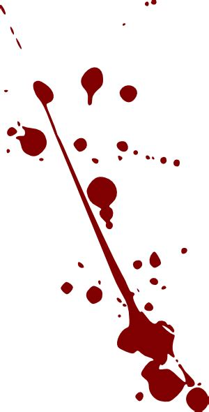 blood splatter clip art  clkercom vector clip art