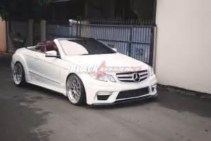 Modifikasi Mercedes E Class by Modification E Class Cabrio The Thanks To Prior