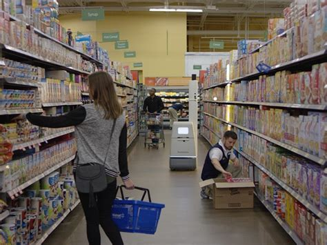 Unloader Walmart by Walmart Tests Self Driving Robot That Scans Shelves For