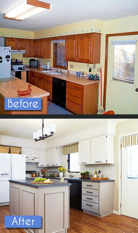 kitchen soffit makeover kitchen before after photos 8 amazing makeovers 3081