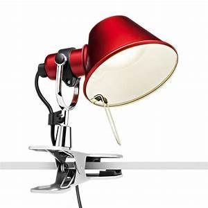 Lampe A Pince : tolomeo micro pinza led lampe pince artemide ~ Teatrodelosmanantiales.com Idées de Décoration