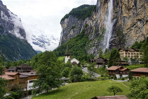 Switzerland Lauterbrunnen 4k Ultra Hd Wallpaper