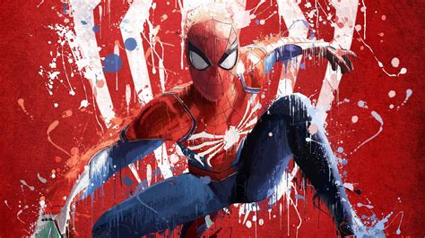 Spiderman Ps4 Art 2018, Hd Games, 4k Wallpapers, Images