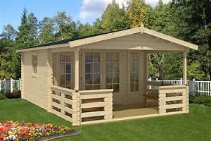 Garten Holzhäuser Aus Polen : gartenh user mit berdachter terrasse oder veranda kaufen ~ Lizthompson.info Haus und Dekorationen