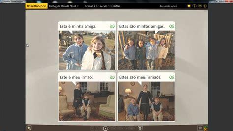 Rosetta Stone V3 Portuguese Brazil Level 1 Ixernismort