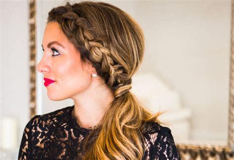 cutest side ponytail ideas