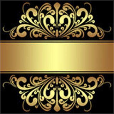 elegant background  floral golden borders royalty