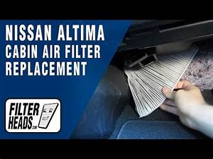 How To Replace Cabin Air Filter Nissan Altima 2013