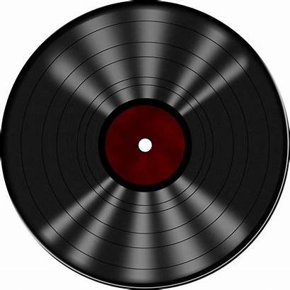 Record Vinyl Clipart Drawing Transparent Klubbheads Pinclipart