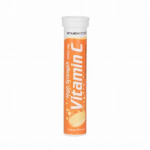 Effervescent Vitamin C Tablets