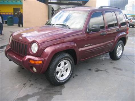 jeep burgundy interior 2002 used jeep liberty color burgundy for sale in