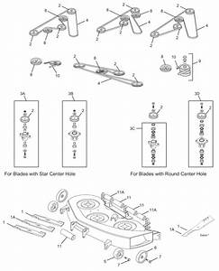Cub Cadet Lt1050 Deck Parts Diagram