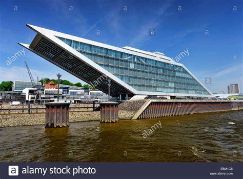Modernes Bürogebäude Dockland Am Fischereihafen Altona In
