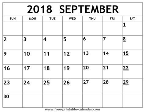 effortless printable september calendars kim website