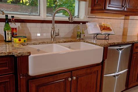 farmhouse sink in a remodeled kitchen yelp