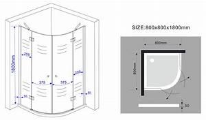 Spannbettlaken 80 X 180 : duschkabine clarabo 80 x 80 x 180 cm viertelkreis ohne duschtasse ~ Eleganceandgraceweddings.com Haus und Dekorationen