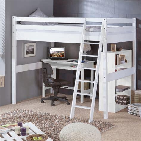 lit mezzanine 2 places avec bureau charmant chambre avec lit mezzanine 2 places avec design