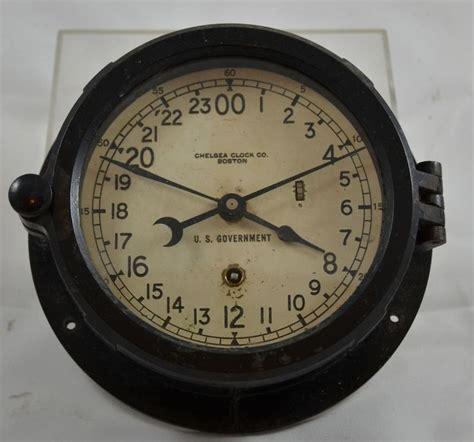chelsea ships clock vintage marine ships clock bakelite chelsea clock co 2138