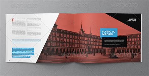 modern brochure design templates psd indesign