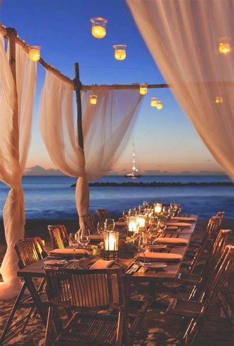outdoor dining  beach beaches sunsets