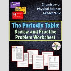Periodic Table Review By Amy Brown Science  Teachers Pay Teachers
