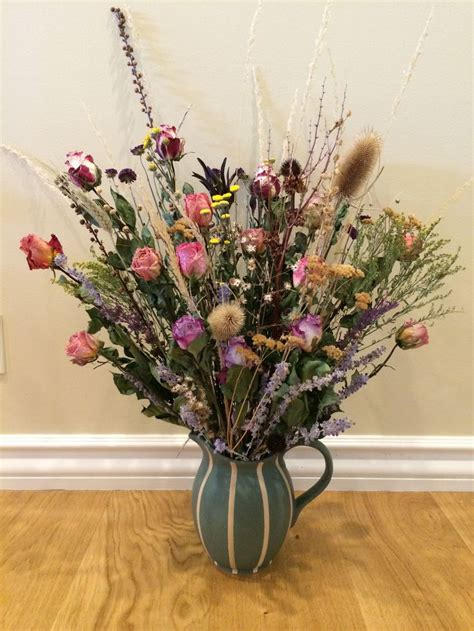 Dried Flower Arrangements In Vases by 51 Best Dried Flower Arrangements Wreaths Images On