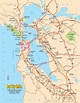Asisbiz 0 Tourist Map San Francisco Bay Area North ...