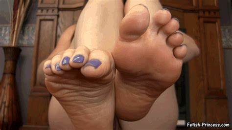 Love Jerking Dick With My Amazing Huge Feet Joi
