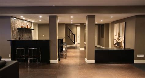 22 finished basement contemporary design ideas page 2 of 4
