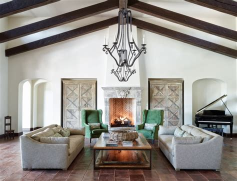 mediterranean family room designs decorating ideas
