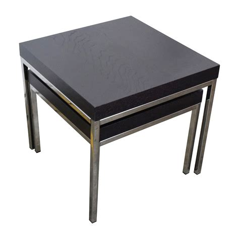 Ikea Küchenplaner Chrome by 38 Ikea Ikea Klubbo Black And Chrome Nesting Tables