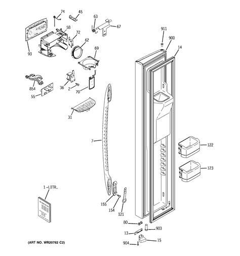 ge pshfpgzbebb side  side refrigerator parts sears partsdirect