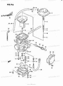 Suzuki Atv 1995 Oem Parts Diagram For Carburetor  Model L