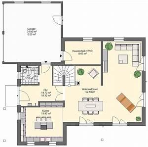 Modernes Haus Grundriss : einfamilienhaus mit doppelgarage modern grundriss ~ Lizthompson.info Haus und Dekorationen