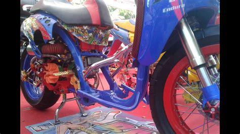Gambar Modifikasi Motor Suprax125 by 88 Aksesoris Thailook Scoopy Kumpulan Modifikasi Motor