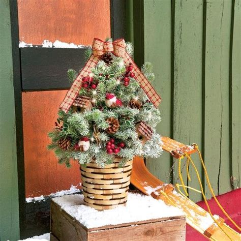 decorated frosted christmas tree frosted birds and berries decorated christmas tree 1 5 gallon miniature tabletop christmas