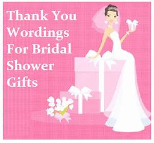 thank you messages bridal shower With thank you wedding shower wording