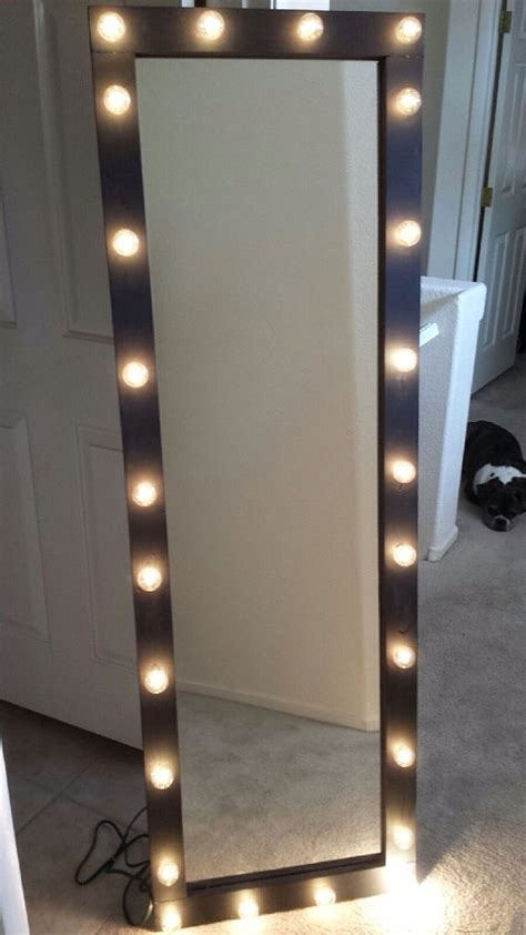 light up body mirror items similar to full length lighted vanity mirror on etsy