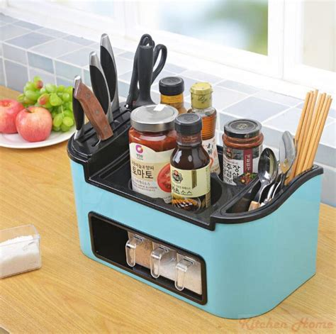Kitchen Organization Tools by 2019 Multi Functional Big Kitchen Tools Holder Stand Rack