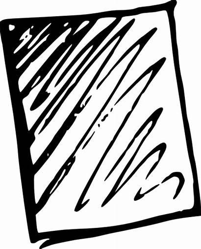 Paper Clipart Sheet Clip Vector Shit Scratch