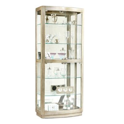 Pulaski Curio Cabinet Replacement Glass by Buy Glass Door Cabinet From Bed Bath Beyond
