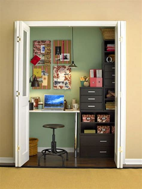 Craft Rooms In A Closet  Craft Storage Ideas