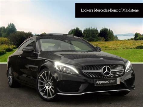 Mercedes C Class Coupe Backgrounds by Mercedes C Class C Amg Coupe Black Series