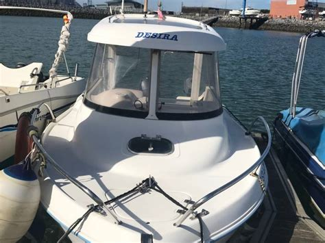 quicksilver qs 530 flamingo en deportivo de el abra getxo barcos de pesca paseo de