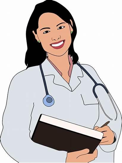 Clipart Doctors Person Doctor Transparent Woman Lady