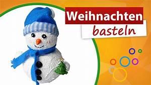 Schneemann Basteln Styropor : weihnachten basteln vorlagen schneemann selber machen ~ Lizthompson.info Haus und Dekorationen